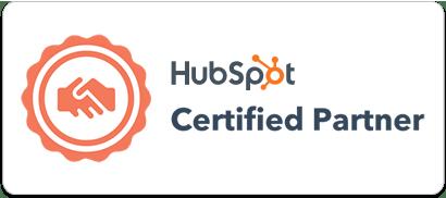 The Cloud People partner badge HubSpot.